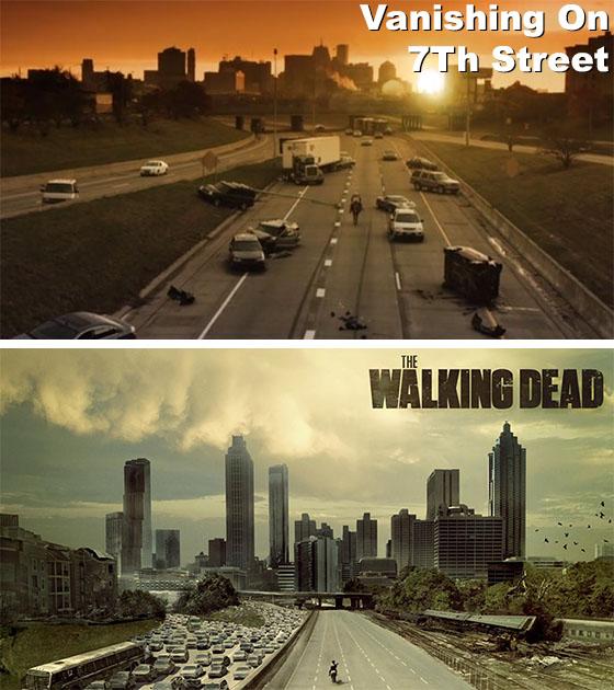 Vanishing On 7Th Street VS The Walking Dead