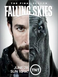 falling skies 5 - poster